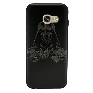 I-CHOOSE LIMITED 3D Star Wars Funda/Carcasa del Teléfono para Samsung Galaxy A5 2016 Gel/TPU / Darth Vader