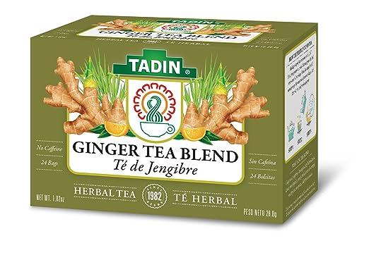Tadin Herb & Tea Co. Té, contiene bolsas de té de cafeína ...