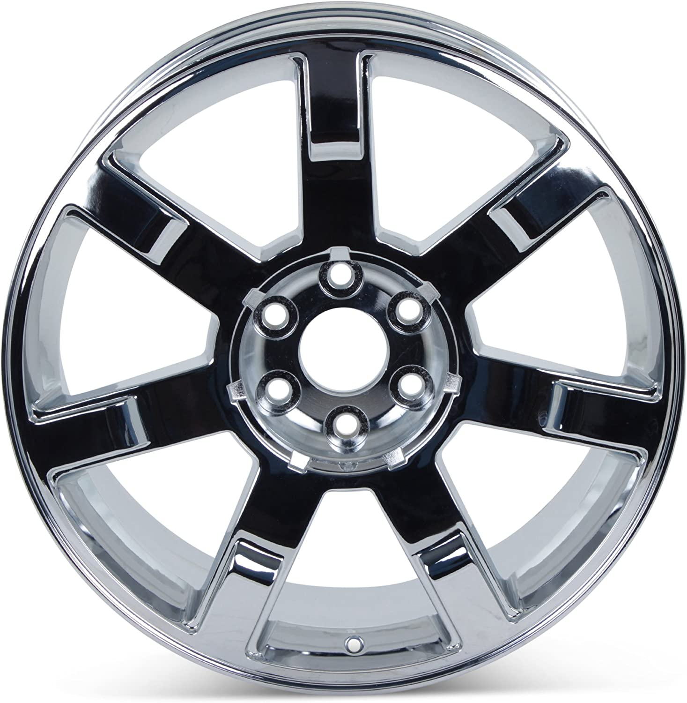 NEW 2010 2011 2012 Cadillac Escalade Chrome OEM GM Specs 22 in WHEEL 5309