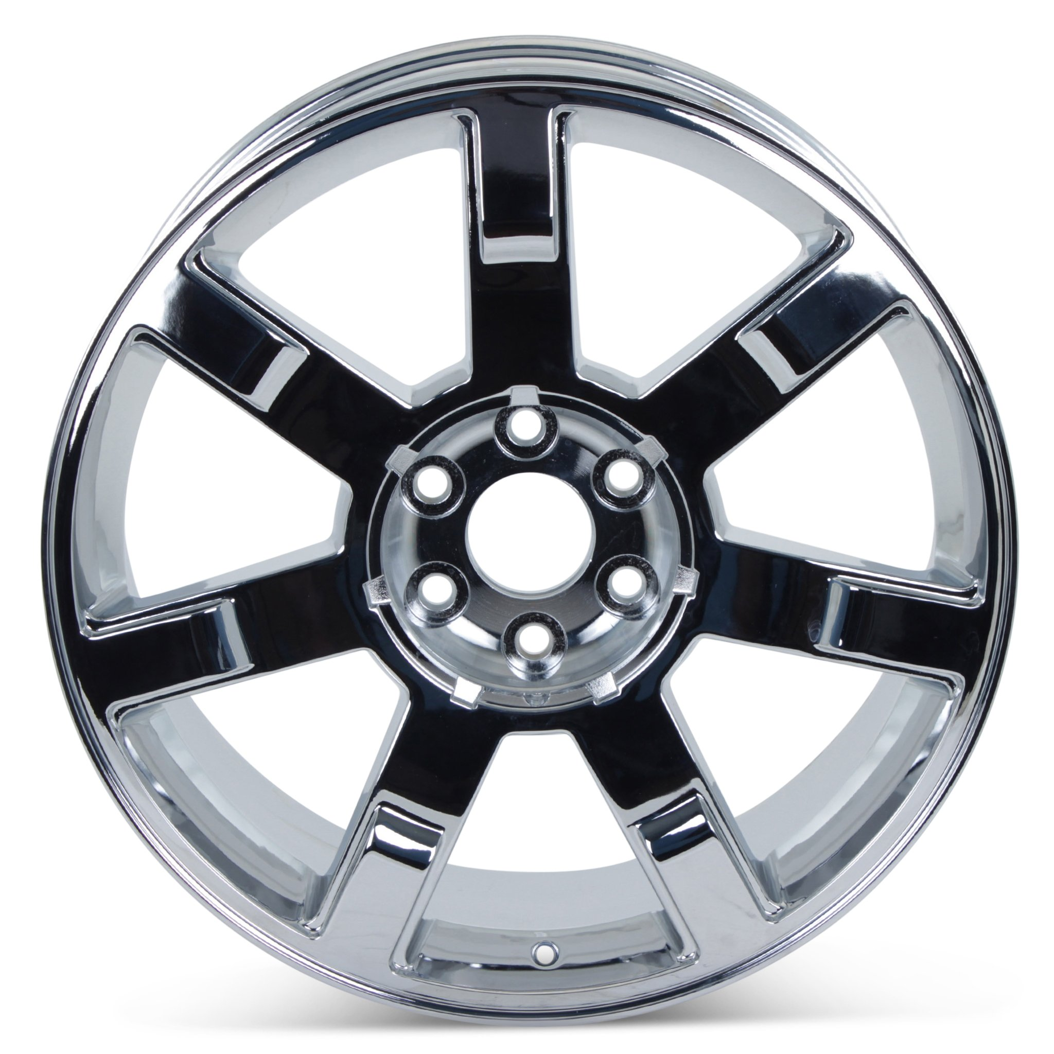 New 22'' x 9'' Replacement Wheel for Cadillac Escalade 2007-2013 Rim Chrome 5309 by Cadillac (Image #3)