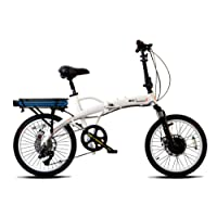 prodecotech Mariner 8V5°F 36V300W 8velocidad bicicleta eléctrica 10Ah SAMSUNG Li Ion, blanco perla, 43.2cm/talla única