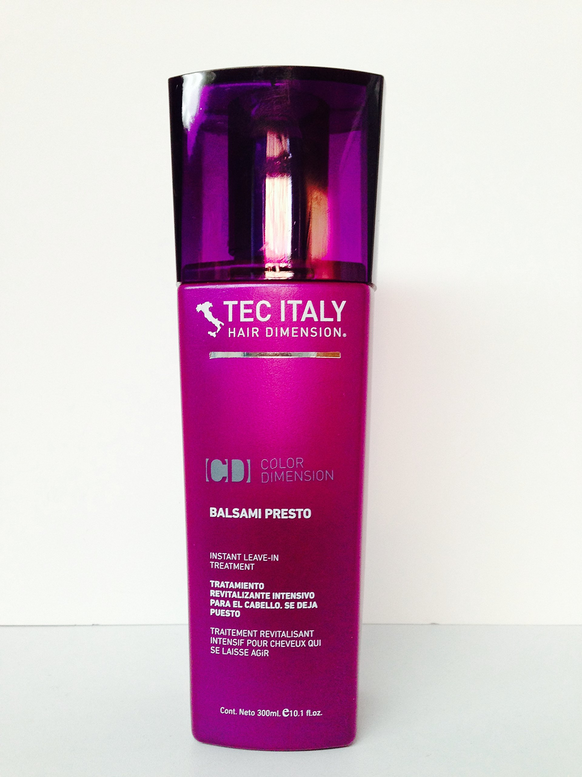 Color art by tec italy - Tec Italy Balsami Presto Leave In Treatments 10 1 Oz
