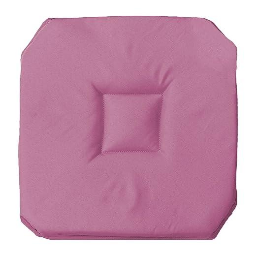 Cojín para silla con 4 solapas, 35 x 35 cm: Amazon.es: Hogar
