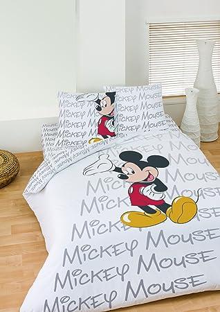 Disney Mickey Classic Parure Housse De Couette 200x200 2 Taie D