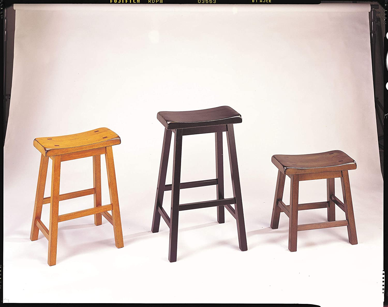 ACME Gaucho Walnut Bar Stool Set of 2