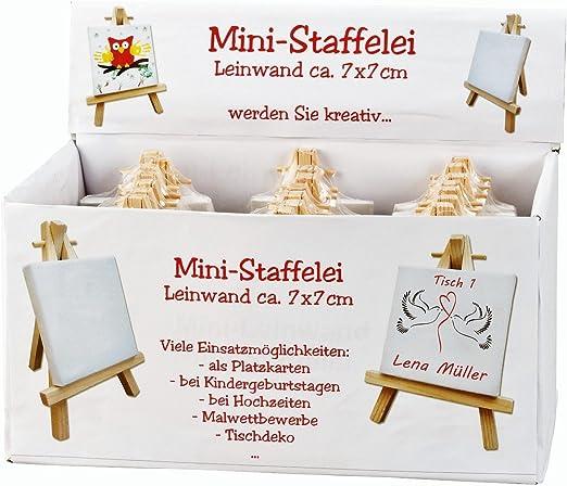 Adatte Come targhette per Nomi con cavalletto Geschenkestadl 24 Mini Tele