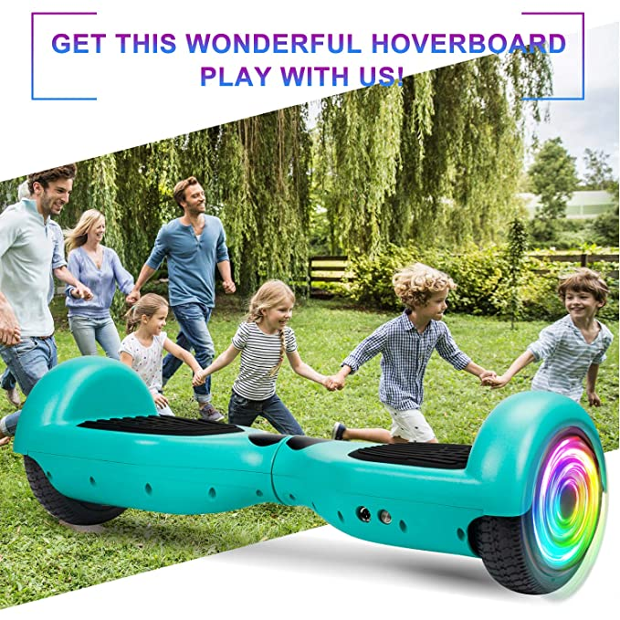 Amazon.com: Siligad Hoverboard de 6.5 pulgadas con dos ...