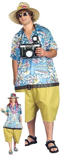 Aptafêtes - cs968910 - Disfraz touriste Hawaiano - Talla única ...