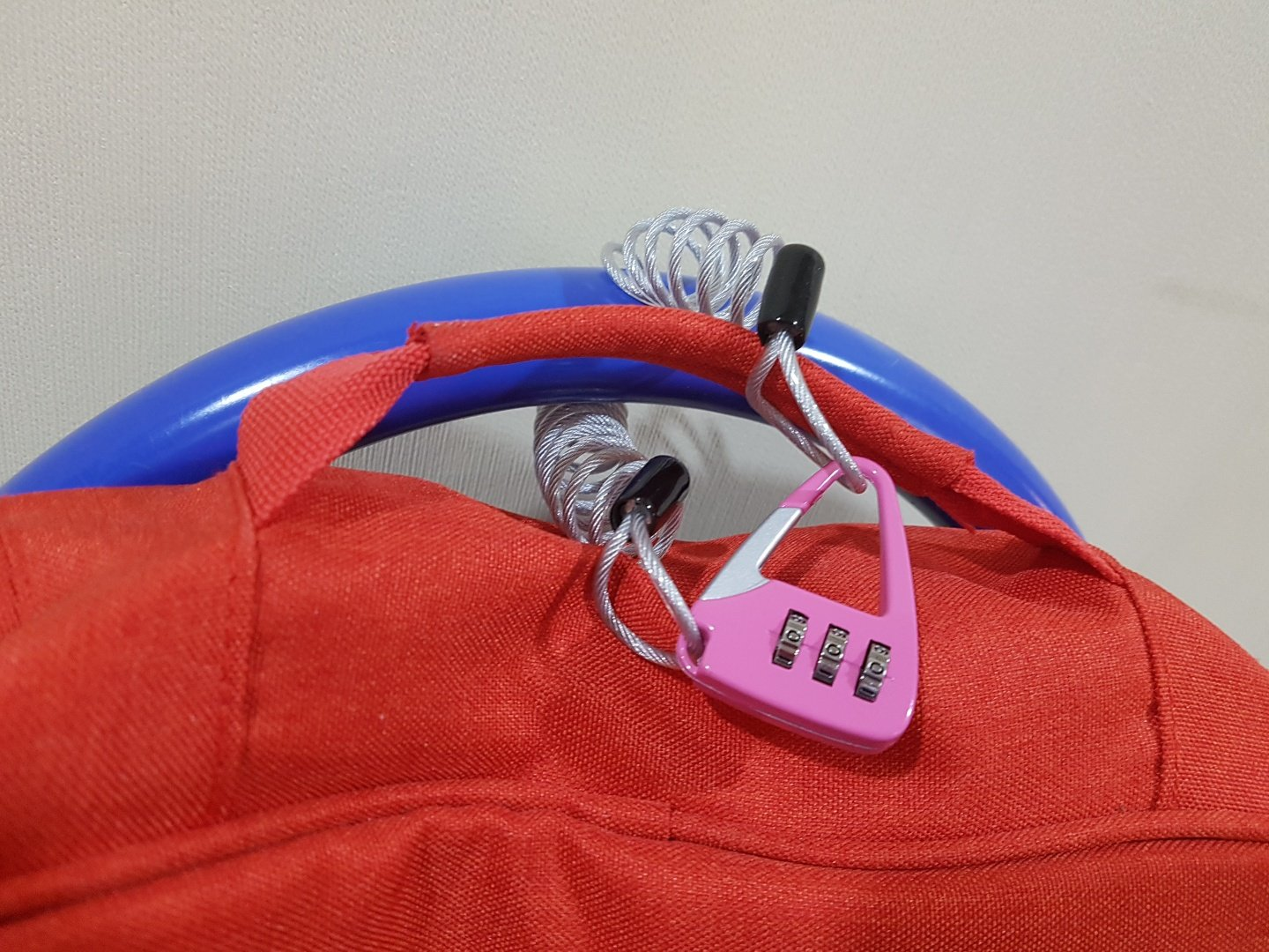 or Locker Daiso Multi Purpose Cable Wired Lock with for Luggage School Bags