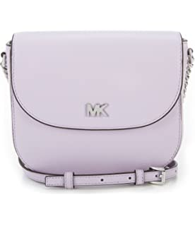 818d8a04c869 Michael Kors Ladies Whipstitched Acorn Leather Saddle Bag ...