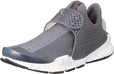 Nike Sock Dart Men/'s Athletic Shoes WolfGrey//White-Pink BLAST 819686 003