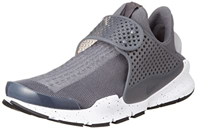 best sneakers 7c214 1696b Image Unavailable. Image not available for. Color  Nike Mens Sock Dart  Running Shoes Wolf Grey White 819686-003 Size 9