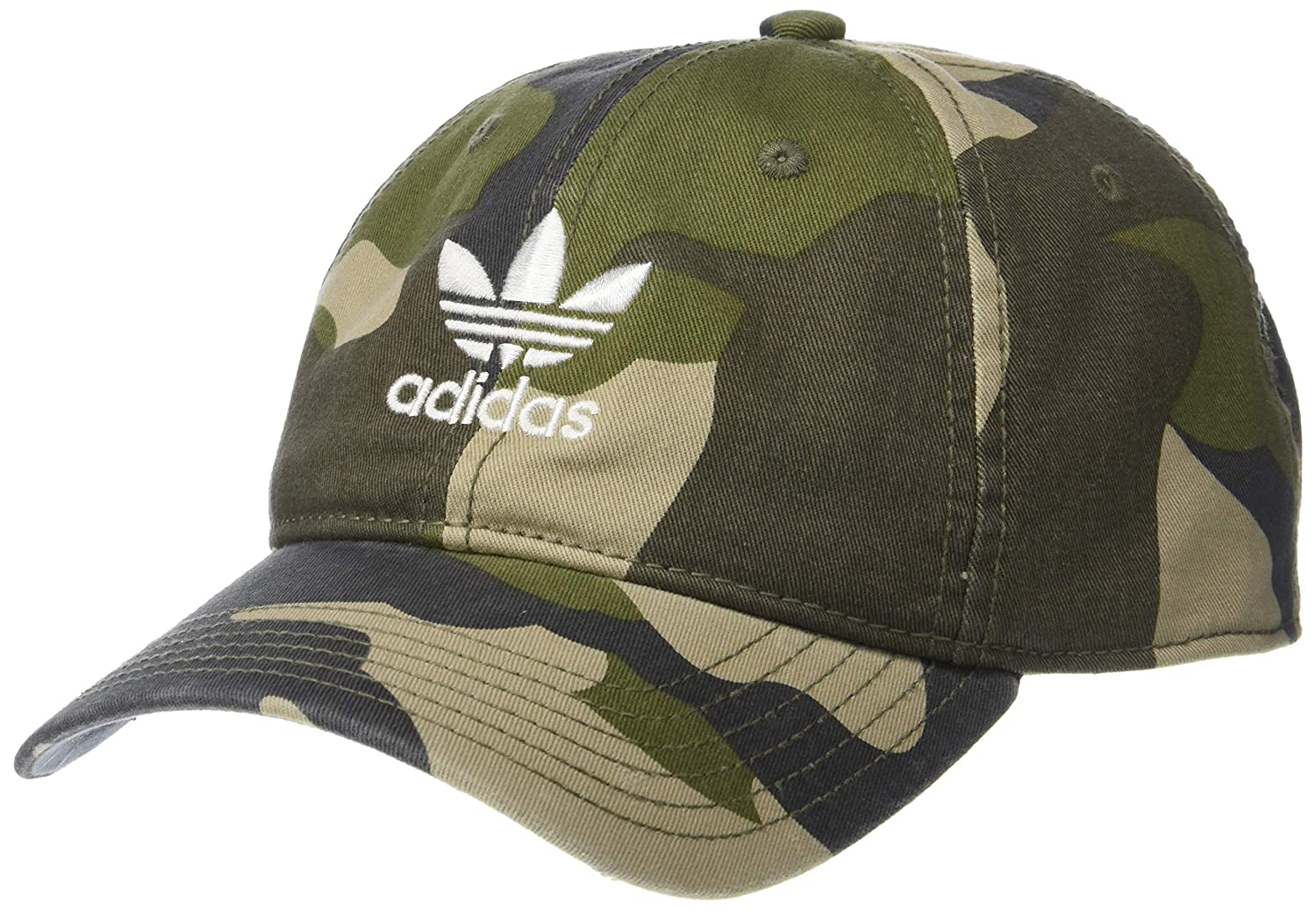 df695d8d686 Amazon.com  adidas Men s Originals Relaxed Strapback Cap