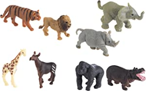 Safari Ltd. Good Luck Minis – Wild Fun Pack – Realistic Hand Painted Miniature Toy Figurine Models – Quality Construction from Safe and BPA Free Materials – for Ages 5 and Up