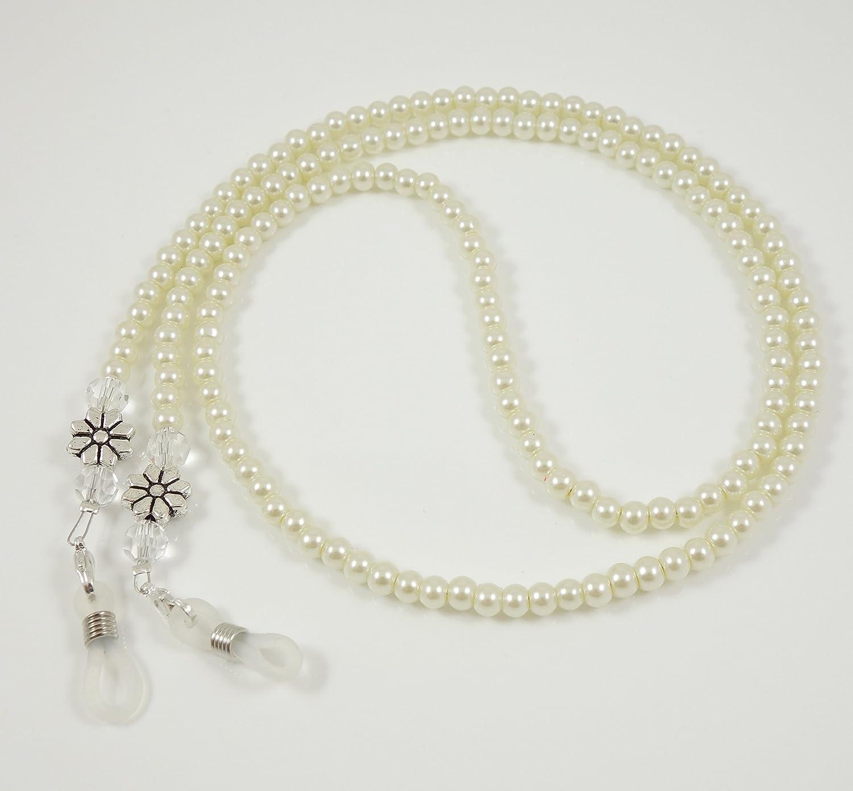 'Chaîne pour lunettes en perles de verre