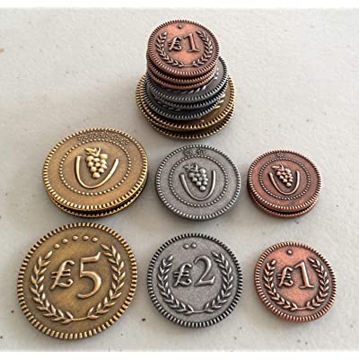 Viticulture Metal Coins: Toys & Games