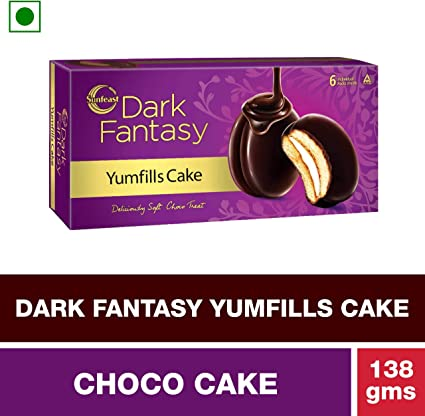 Sunfeast Dark Fantasy Yumfills Pie, 138g