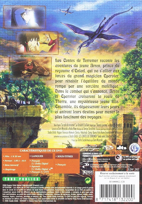 Les Contes de Terremer [Alemania] [DVD]: Amazon.es: Goro ...