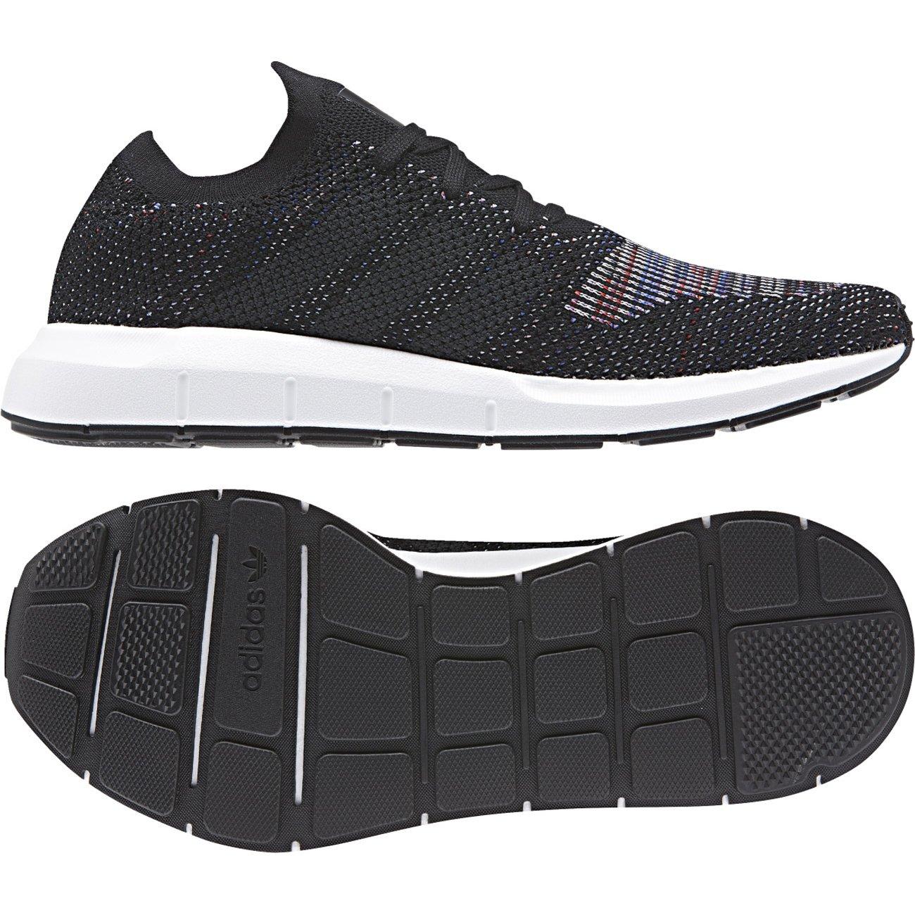 4c83c041b adidas Mens Originals Swift Run Pk Trainers in Black  Amazon.co.uk  Shoes    Bags