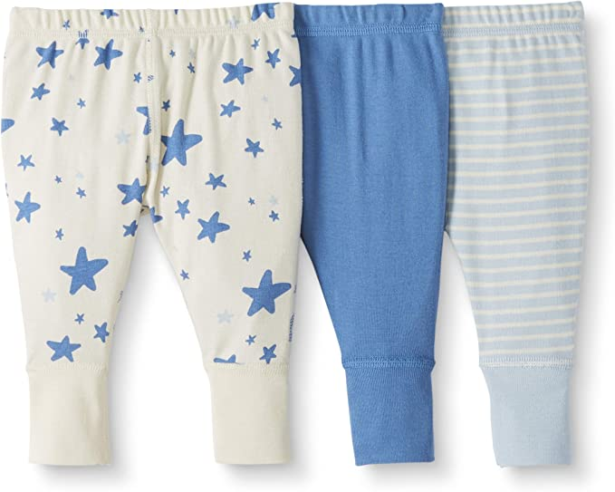 Moon and Back de Hanna Andersson - Pack de 3 pantalones de chándal ...