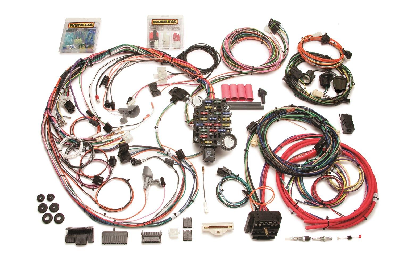 amazon com painless wiring 20129 1969 chevelle wiringharness 26 69 Camaro Wiring Harness