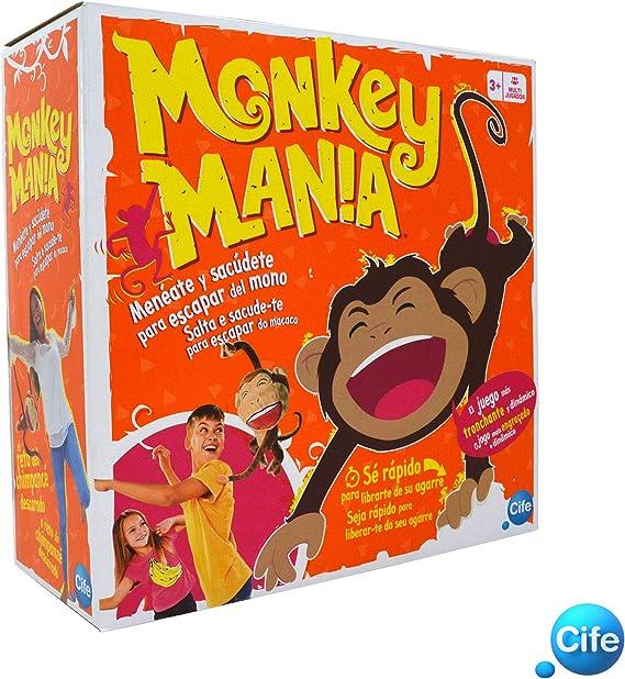 Cife- Monkey Mania, Multicolor (41635): Amazon.es: Juguetes y juegos