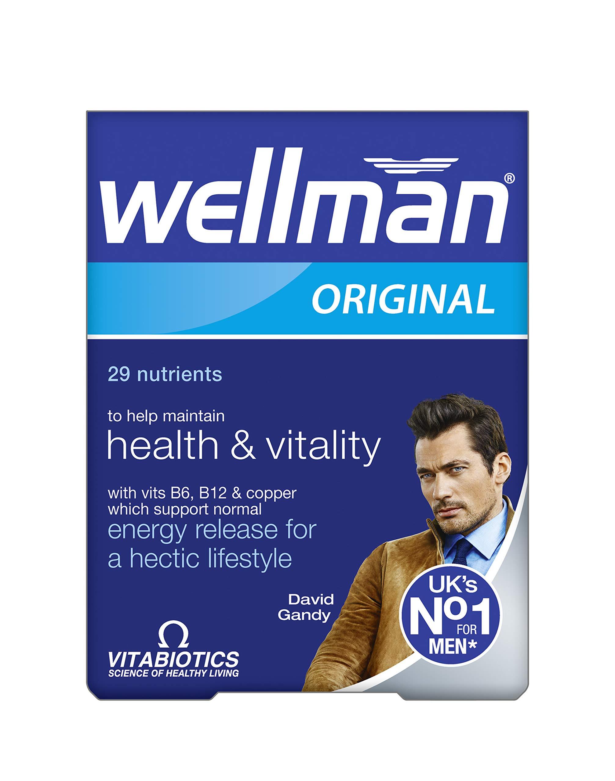 Vitabiotics Wellman 30 tablets