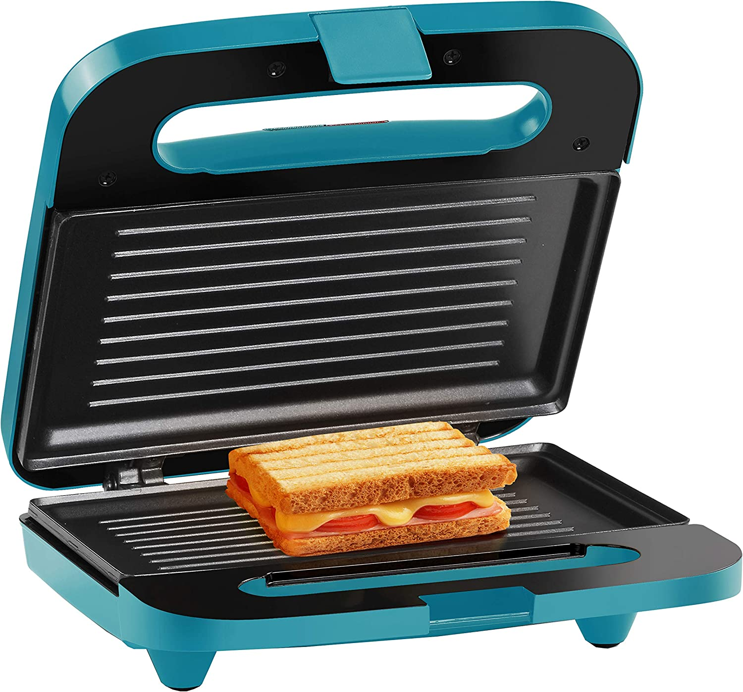 Holstein Housewares HH-09125003E 2 Section Sandwich Grill – Teal