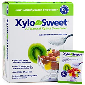 Xlear Xylitol Sweetener -, 0.14 Ounce Packets 100 Count