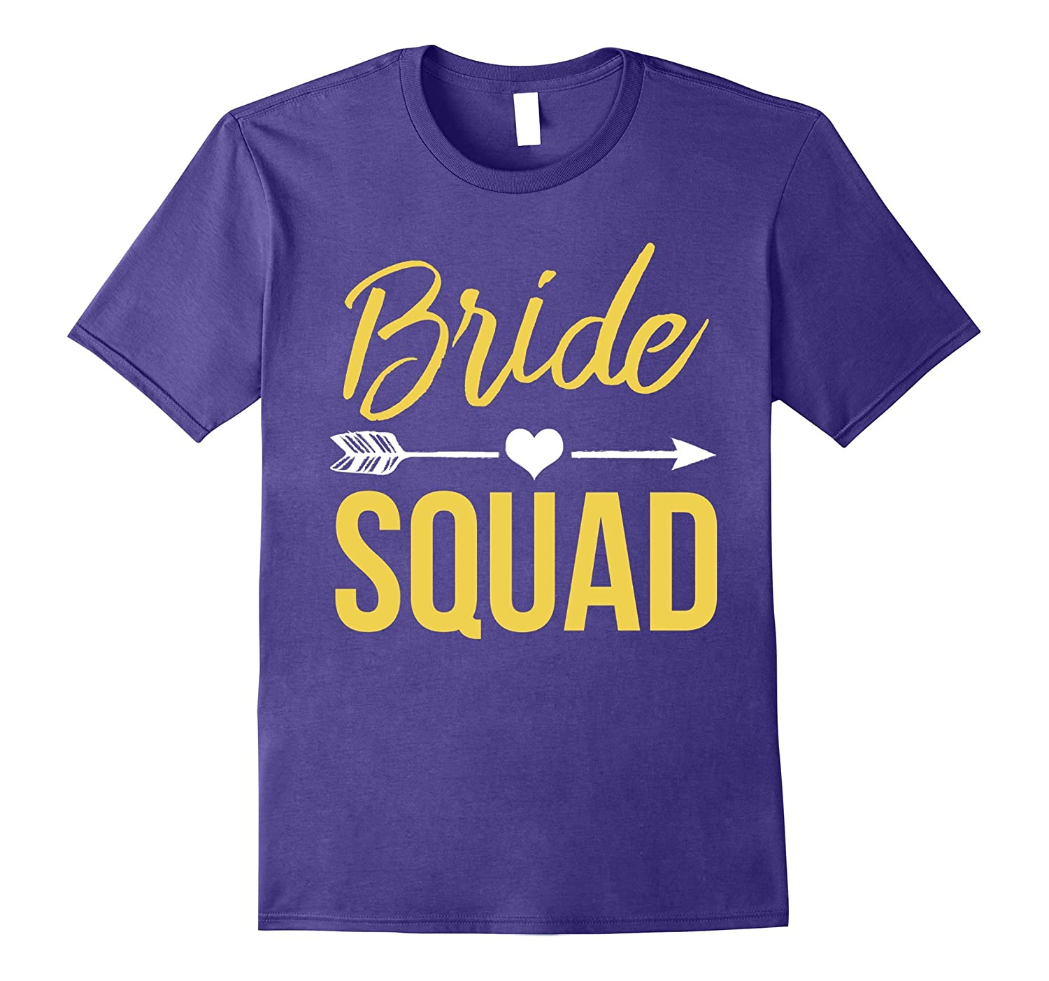 Bachelorette Party Shirts - Bridesmaids Bride Squad Shirt-BN