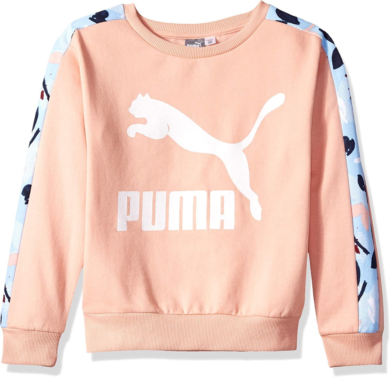 PUMA Big Girls Fleece Pullover