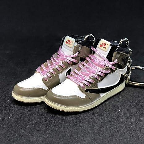 Pair Air Jordan I 1 Retro High Travis