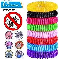 TEPSMIGO Mückenschutz Armband, Mückenarmband, Moskito Armband,Anti mücken Armband für Erwachsene und Kinder