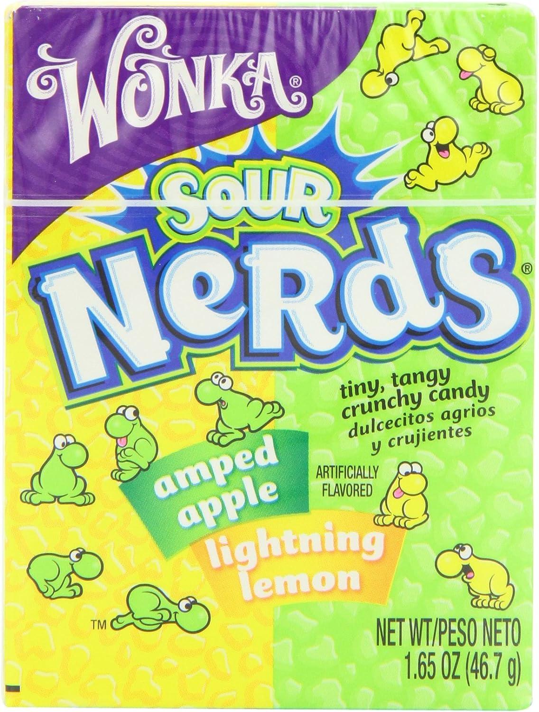 Wonka Nerds Sour Lemon and Apple 46.7 g (Pack of 8): Amazon.es: Alimentación y bebidas