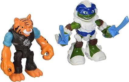 Amazon.com: Teenage Mutant Ninja Turtles media concha Héroes ...