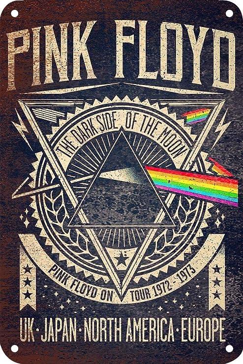 Amazon.com: Pink Floyd Tin Sign Vintage Wall Poster Retro ...