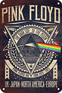 Amazon.com: Pink Floyd Tin Sign Vintage Wall Poster Retro ...