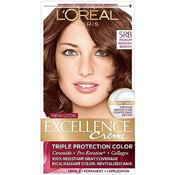 Amazon Com L Oreal Paris Excellence Creme Permanent Hair Color 5rb