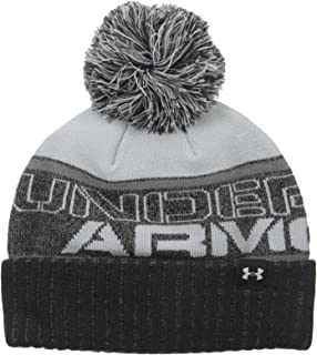28e323992 Under Armour Men's UA Pom Beanie - Artillery Green, One Size: Amazon ...
