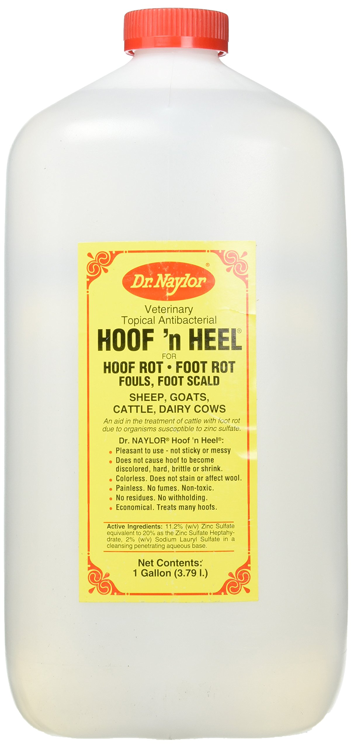 Dr. Naylor Hoof n' Heel (1 Gal ) - Traditional Foot Rot Treatment by Dr. Naylor