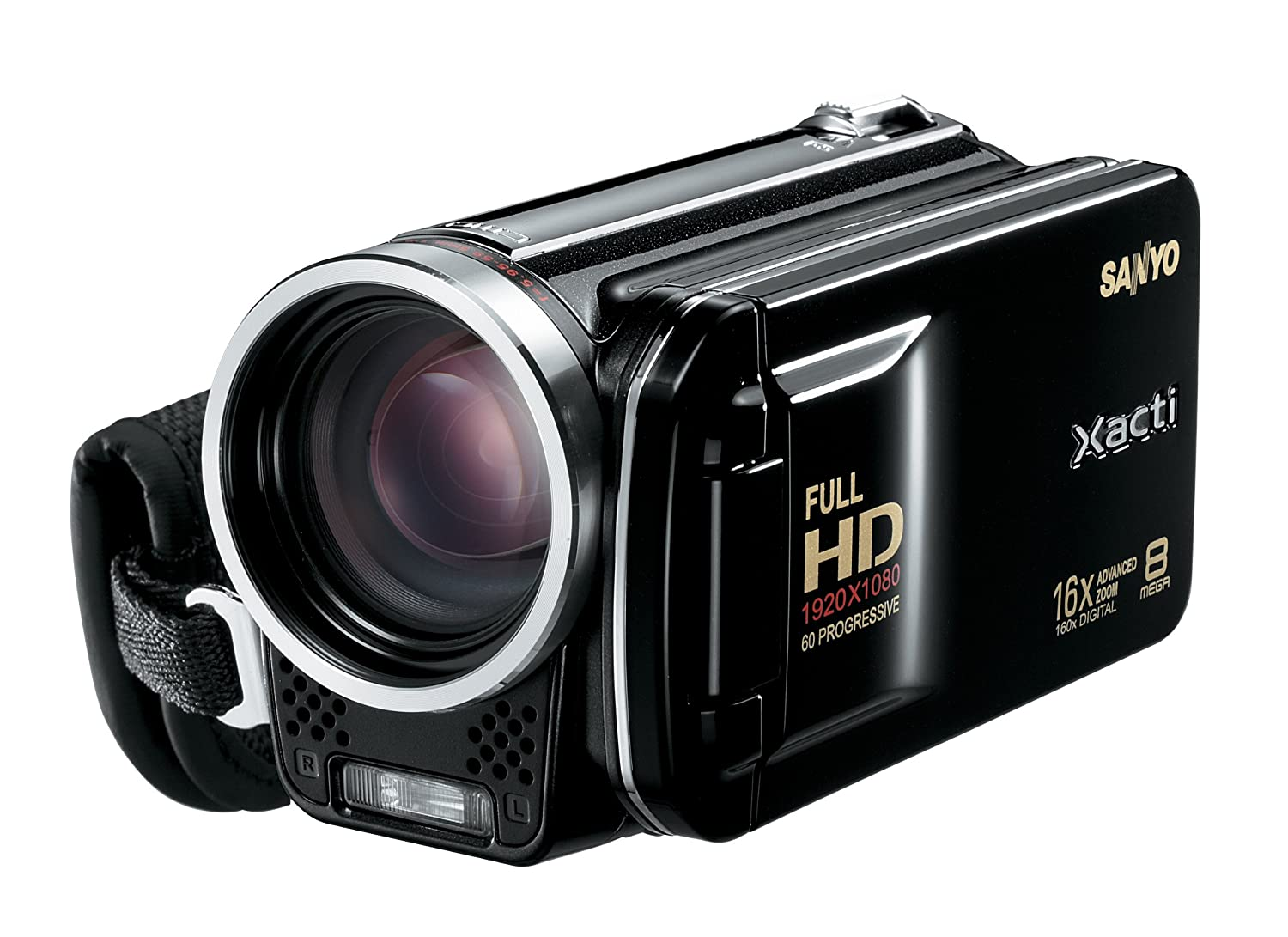 Amazon.com : Sanyo VPC-FH1A Full HD Video and 8 MP Digital Photos (Black)  (Discontinued by Manufacturer) : Camcorders : Camera & Photo
