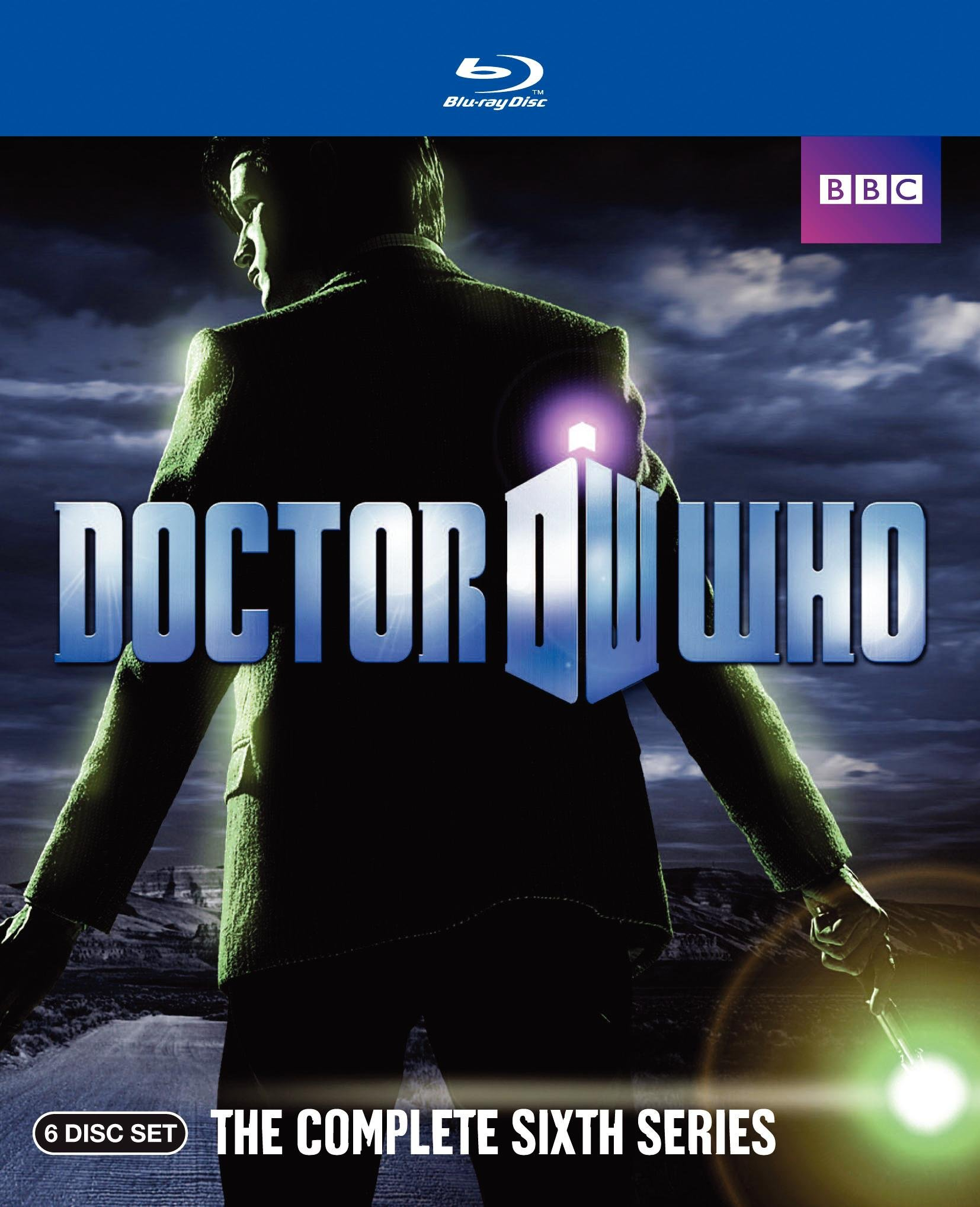 Blu-ray : Doctor Who: The Complete Sixth Series (AC-3, , Slipsleeve Packaging, Digital Theater System, 6 Disc)