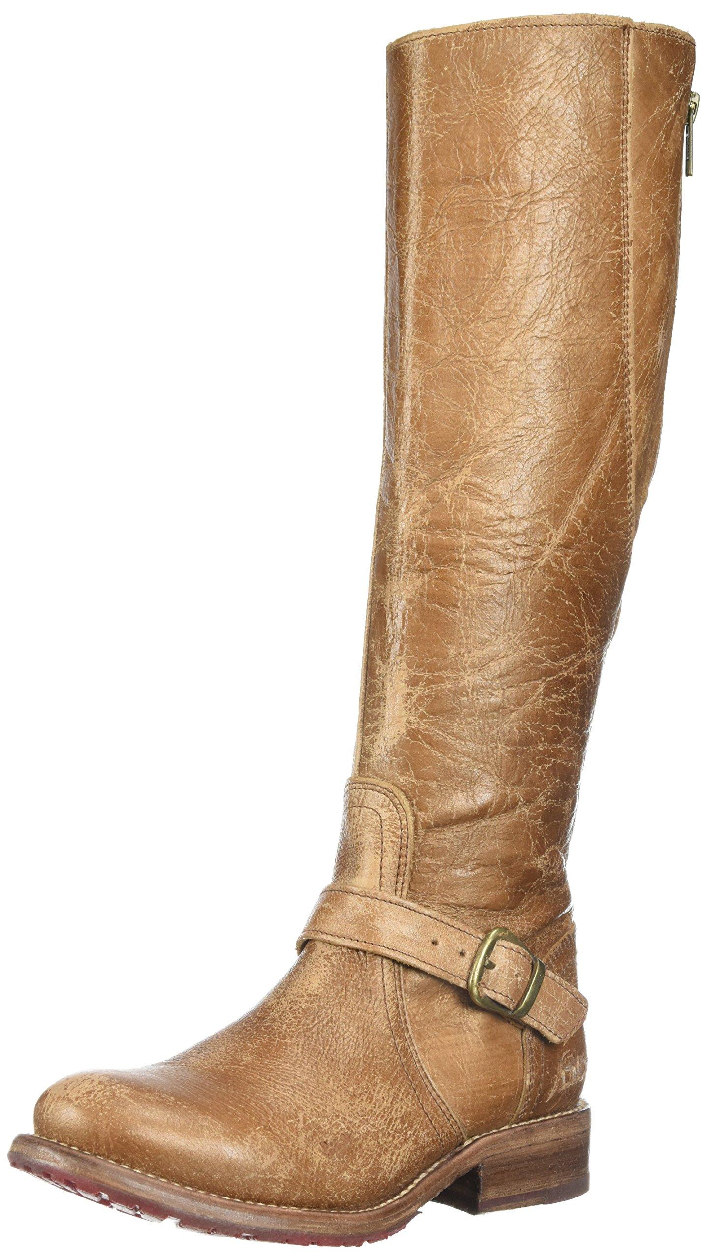 Bed Stu Women's Glaye Fashion Boot, Caramal Lux, 9 Medium US