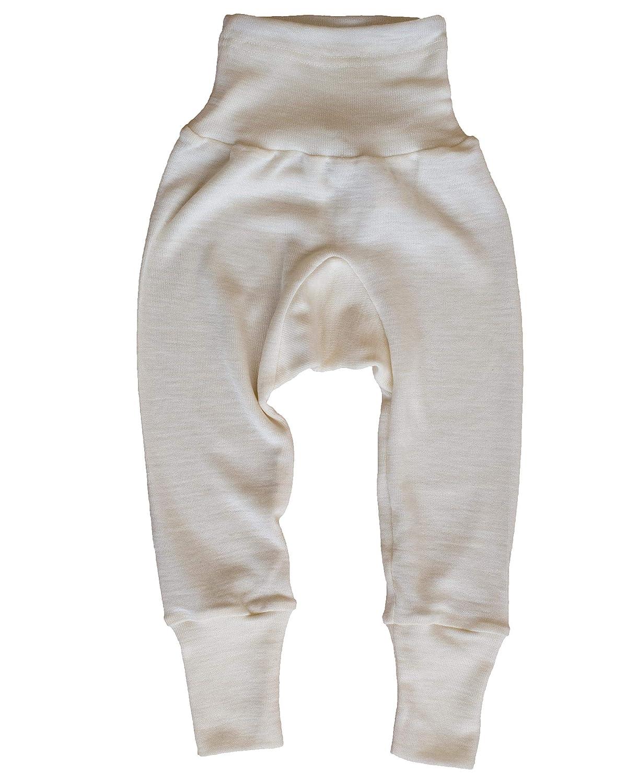 Cosilana Baby Hose lang mit Bund 30/% Seide 70/% Merinoschurwolle