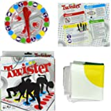 Toyofmine Funny Kids Body Twister Moves Mat Board Game Group Party Picnic Outdoor Sport Toy Gift