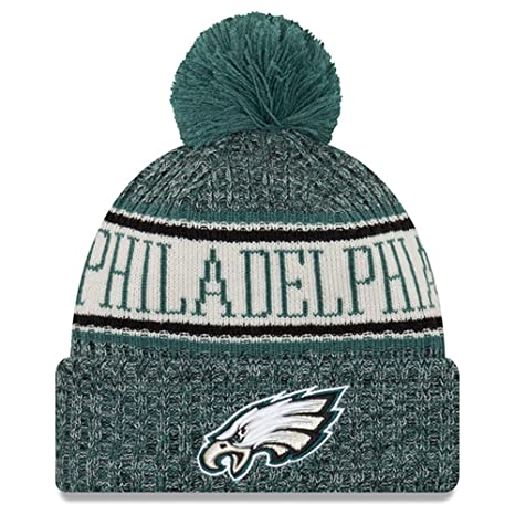 Amazon.com   New Era Youth Philadelphia Eagles Sport Knit NFL Beanie ... dfc3a6806eec