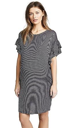 19483862bb7 Ingrid   Isabel Women s Ruffle Sleeve T-Shirt Dress