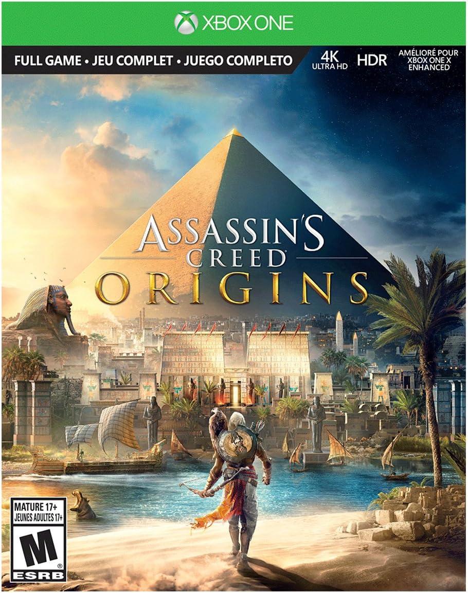 Xbox One S 1TB Console - Assassin\'s Creed Origins Bonus Bundle