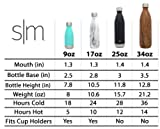 Simple Modern 25oz Wave Water Bottle - Stainless