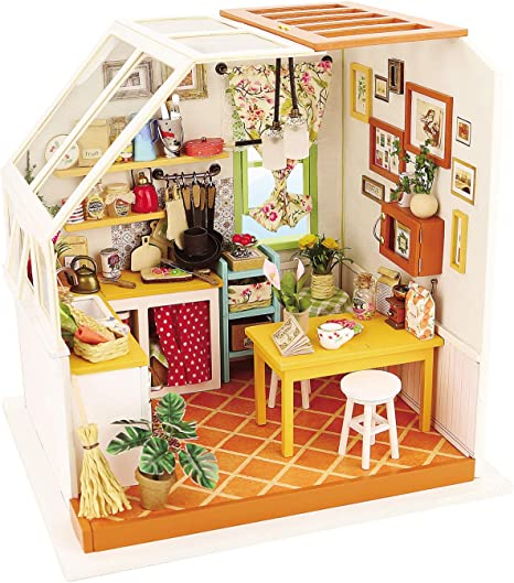 MADE IN USA Fine Art Miniature FAST DELIVERY LITTLE COOK Dollhouse Picture